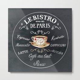 Cafe De Paris Metal Print