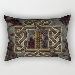 Decorative celtic knot, vintage design Rectangular Pillow