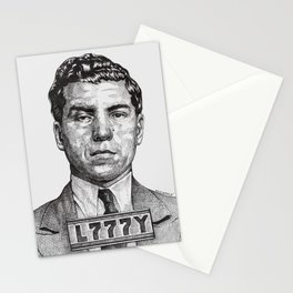 Lucky Crime Boss Stationery Cards
