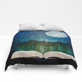 Open Your Imagination Comforters