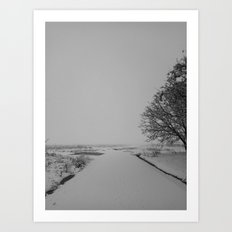 | Never-ending No. 36 - or never-ending winter | Art Print