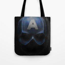 Capt America - Cowl Portrait Tote Bag
