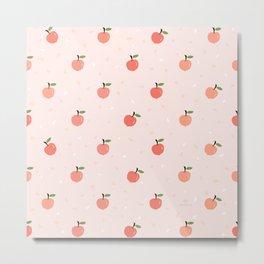 AFE Apricot pattern  Metal Print