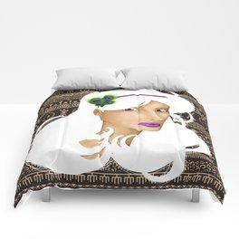 African Peacock Comforters