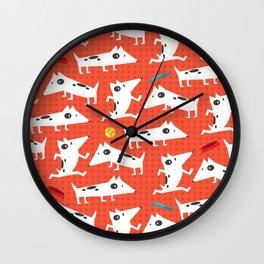 See Spot run Wall Clock