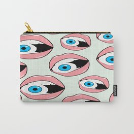 See What You Say Carry-All Pouch