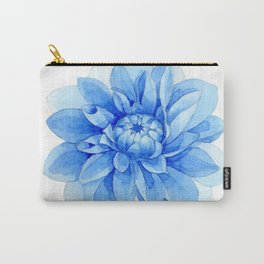 Blue Dahlia 02 Carry-All Pouch