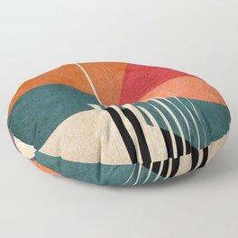in the autumn Floor Pillow