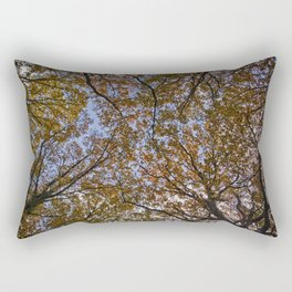 Autumn Canopy Rectangular Pillow