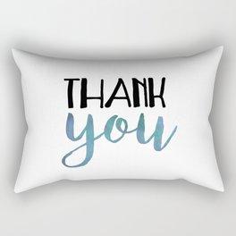 Thank You Rectangular Pillow