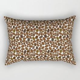 Coffee beans pattern Rectangular Pillow