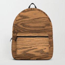 Wood, heavily grained wood grain Backpack