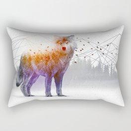 A Wilderness Within / Wolf Rectangular Pillow