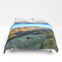 Edinburgh City Panorama Comforters