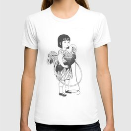 Rooster Girl T-shirt