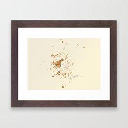 #coffeemonsters 447 Framed Art Print