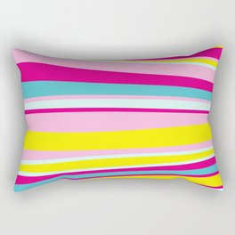 abstract stripes Rectangular Pillow