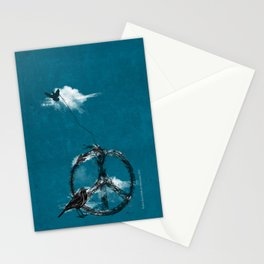 sewing birds Stationery Cards