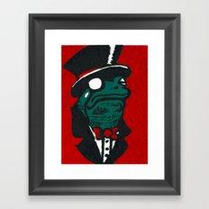 Duke Croakington Framed Art Print