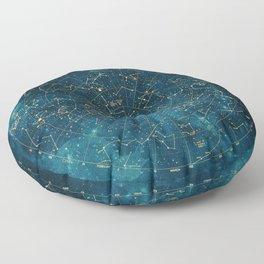 Under Constellations Floor Pillow