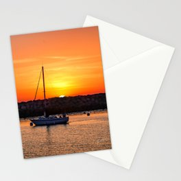 The End of a Great Day Stationery Cards