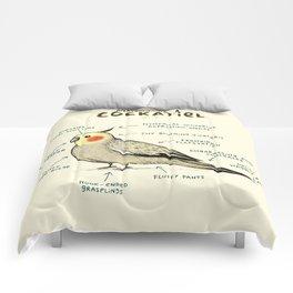 Anatomy of a Cockatiel Comforters