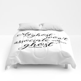 ghost (six of crows) Comforters