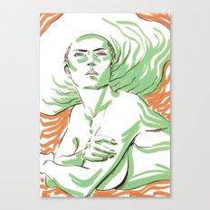Summer Girl 3 Canvas Print