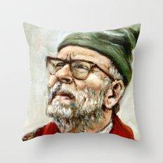 The Narrator - Moonrise Kingdom - Bob Balaban Throw Pillow
