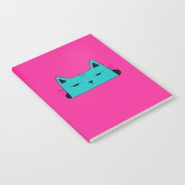 This moody cat wants to hide Notebook