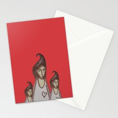 Love, Peace, YEAH! Stationery Cards
