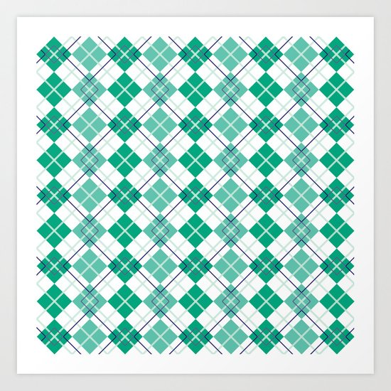 Emerald Argyle Art Print