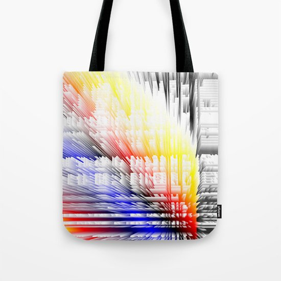 city color fabric Tote Bag