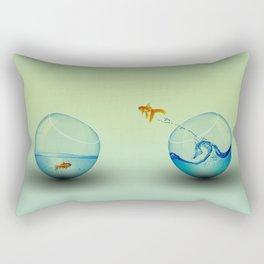 Free fish Rectangular Pillow