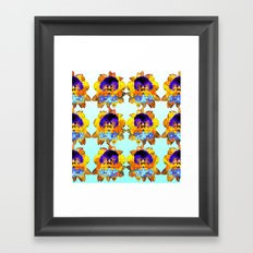 Royal Pansy Framed Art Print
