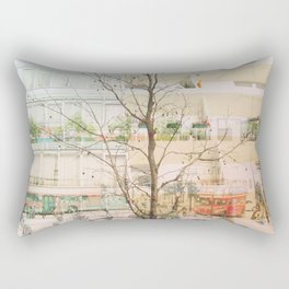 Overwhelming London Rectangular Pillow