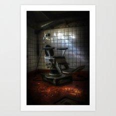Dentist horror Art Print