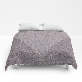 Textured Triangles Comforters