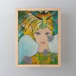 Woman of Mystery Framed Mini Art Print