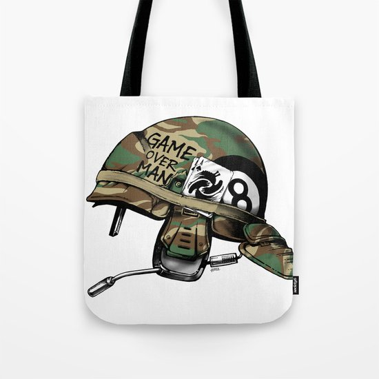 Game Over, Man! Tote Bag