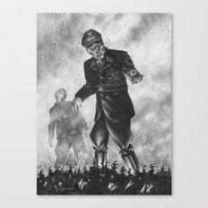 Fubar B&W Comic Version Canvas Print