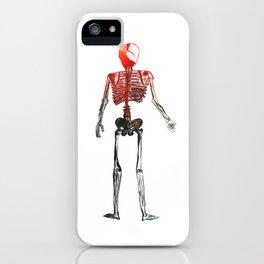Skeleton in your closet iPhone Case