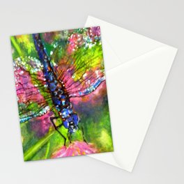 Title: painting - Dragonfly Stationery Cards