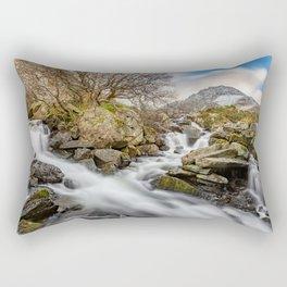 Trfan Mountain Rapids Rectangular Pillow