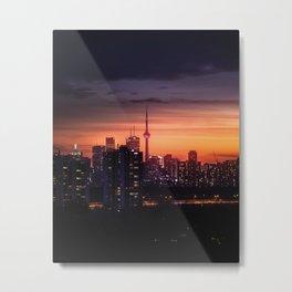 nightfall Metal Print