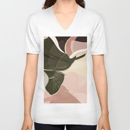Nomade I. Illustration Unisex V-Neck