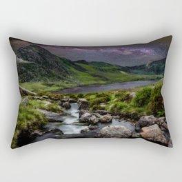 Tryfan by Starlight Rectangular Pillow