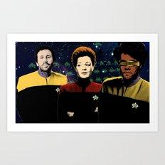 IT Trek Art Print