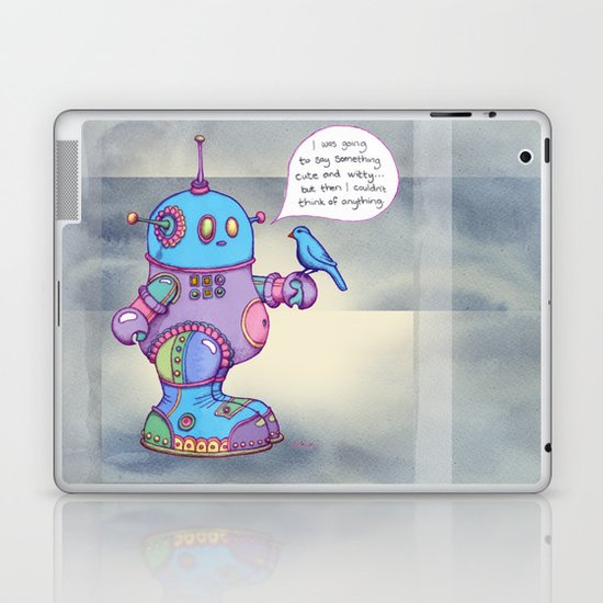 I was going to say something cute and witty... Laptop & iPad Skin