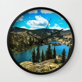 Tahoe Wall Clock